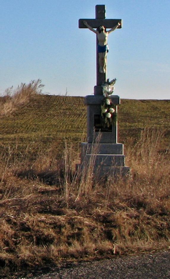 Kríž pri ceste do Vinice