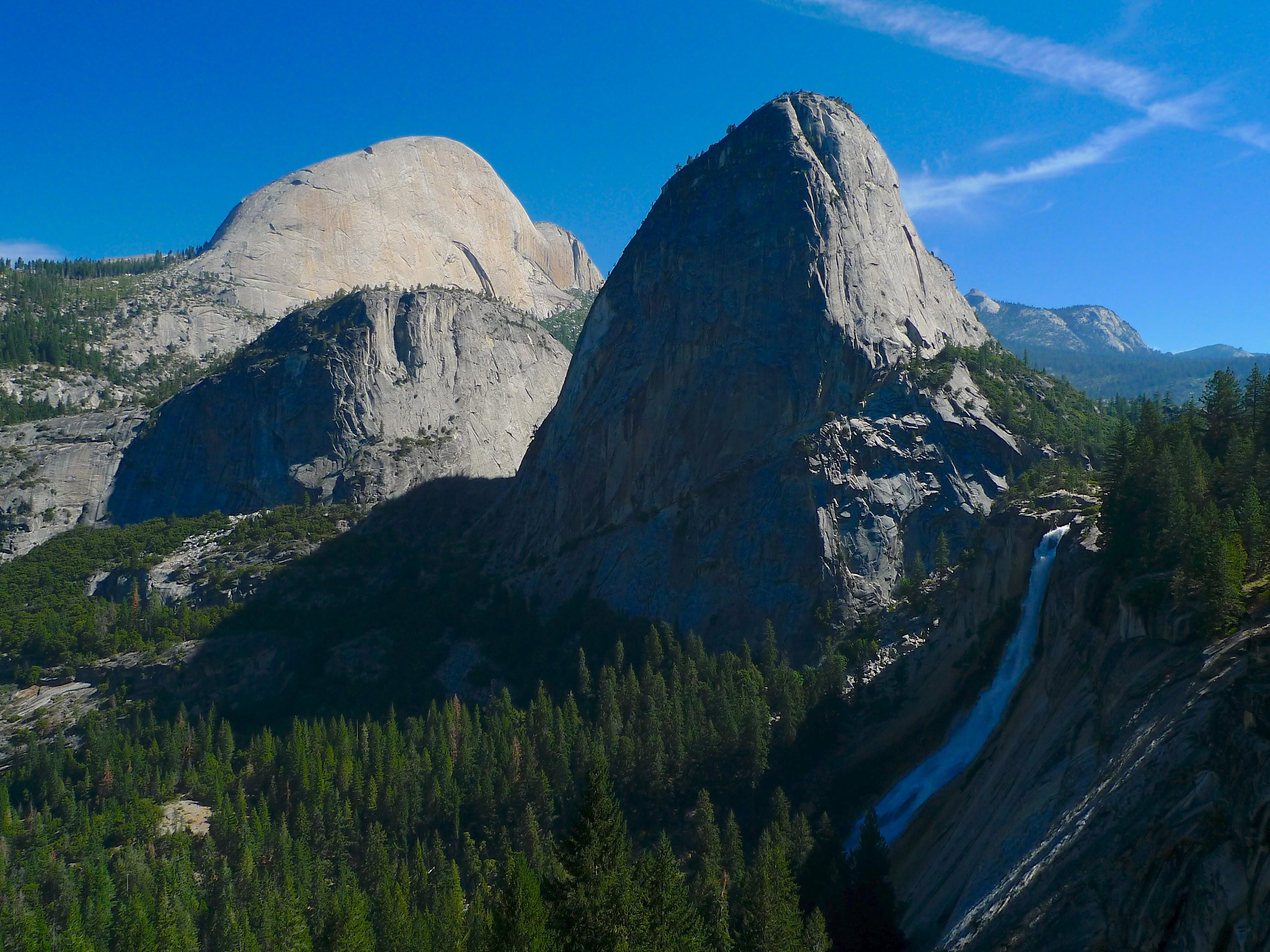 Classic view from the John Muir Trail