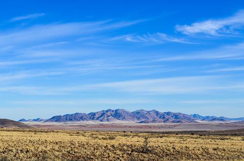 Mountains near the Namib desert