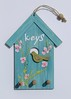 Bird House Key Holder