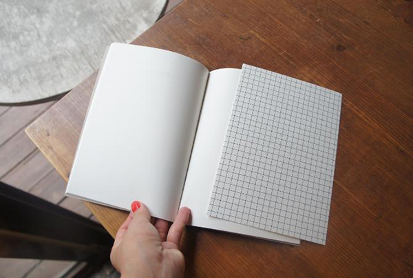 O-Check Deer Stitch Notebook Layout