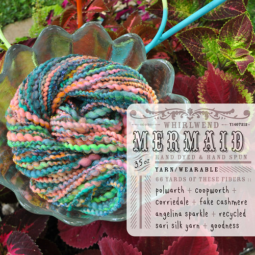 Mermaid { Whirlspun } Yarn