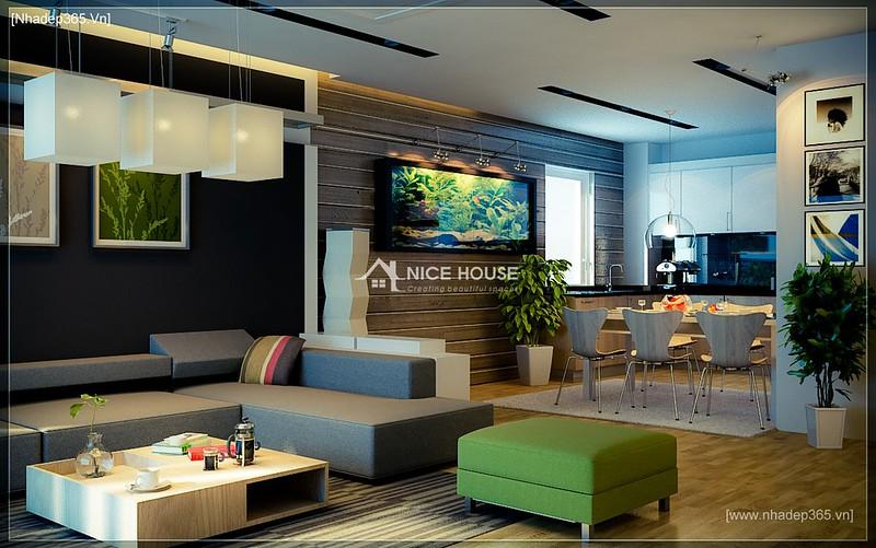 Thiết kế nội thất chung cư M5 - A Chiến_1