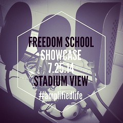 Tomorrow is our Student Showcase & the last day of #FreedomSchool 2014 at #StadiumView.   #amplifiedlife #hiphop #literacy