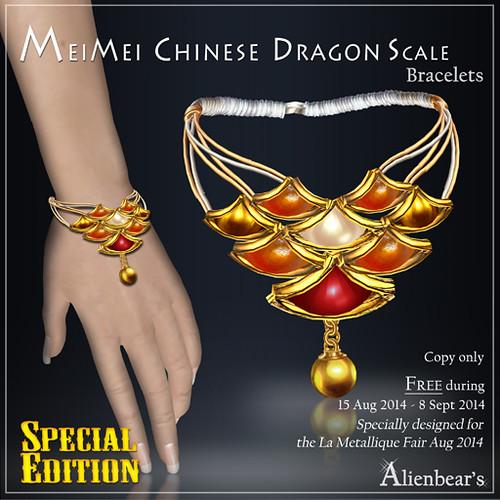 MeiMei Dragon Scale Bracelet SE gift