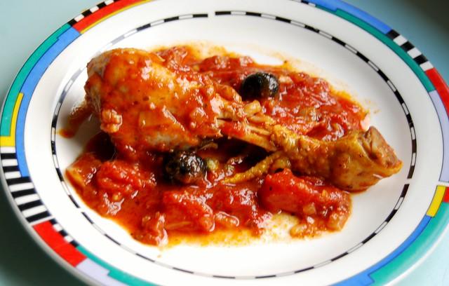 Kip pizzaiolasaus