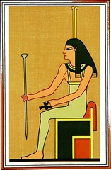 """Image from page 219 of """"The gods of the Egyptians : or, Studies in Egyptian mythology"""" (1904)"""