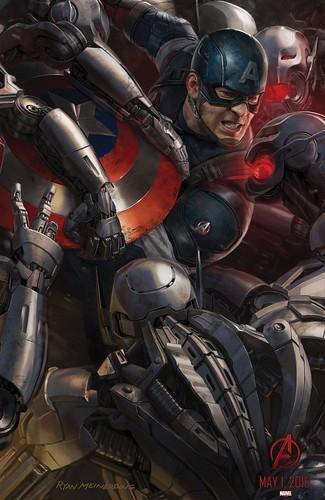 140728(2) - 2015年電影《Avengers: Age of Ultron》(復仇者聯盟2:奧創紀元)9大超級英雄合體海報出爐、台灣4/22隆重上映! 3