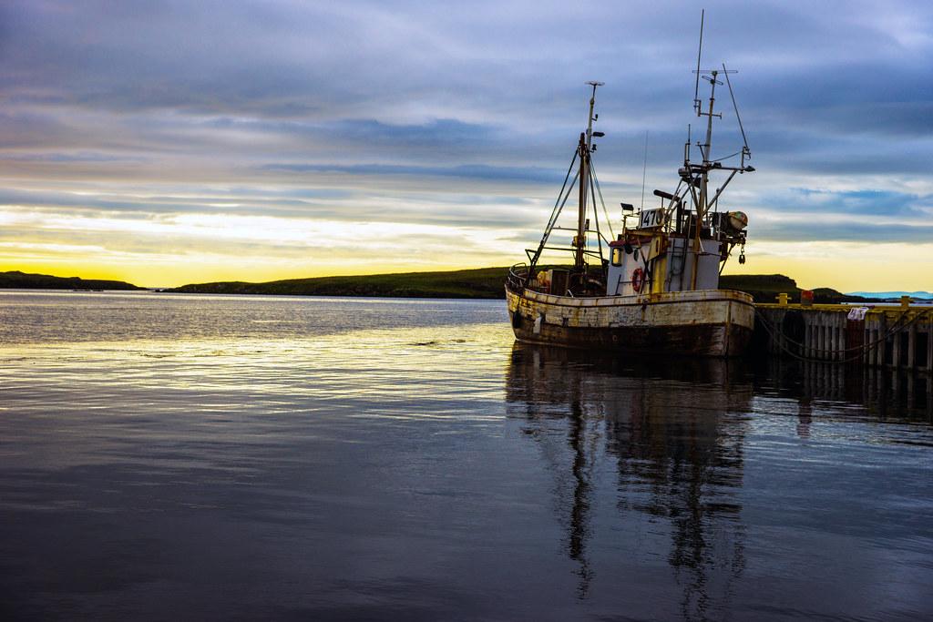 Ship Docked At Stykkishólmur