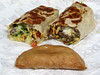 Taco Bell Cantina Power Steak Burrito and caramel apple empanada