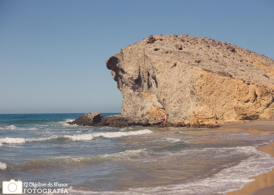 Cabo de Gata. Playa del Mónsul