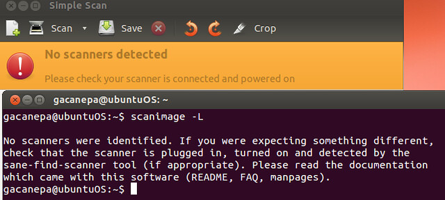 How to configure a network printer and scanner on Ubuntu desktop