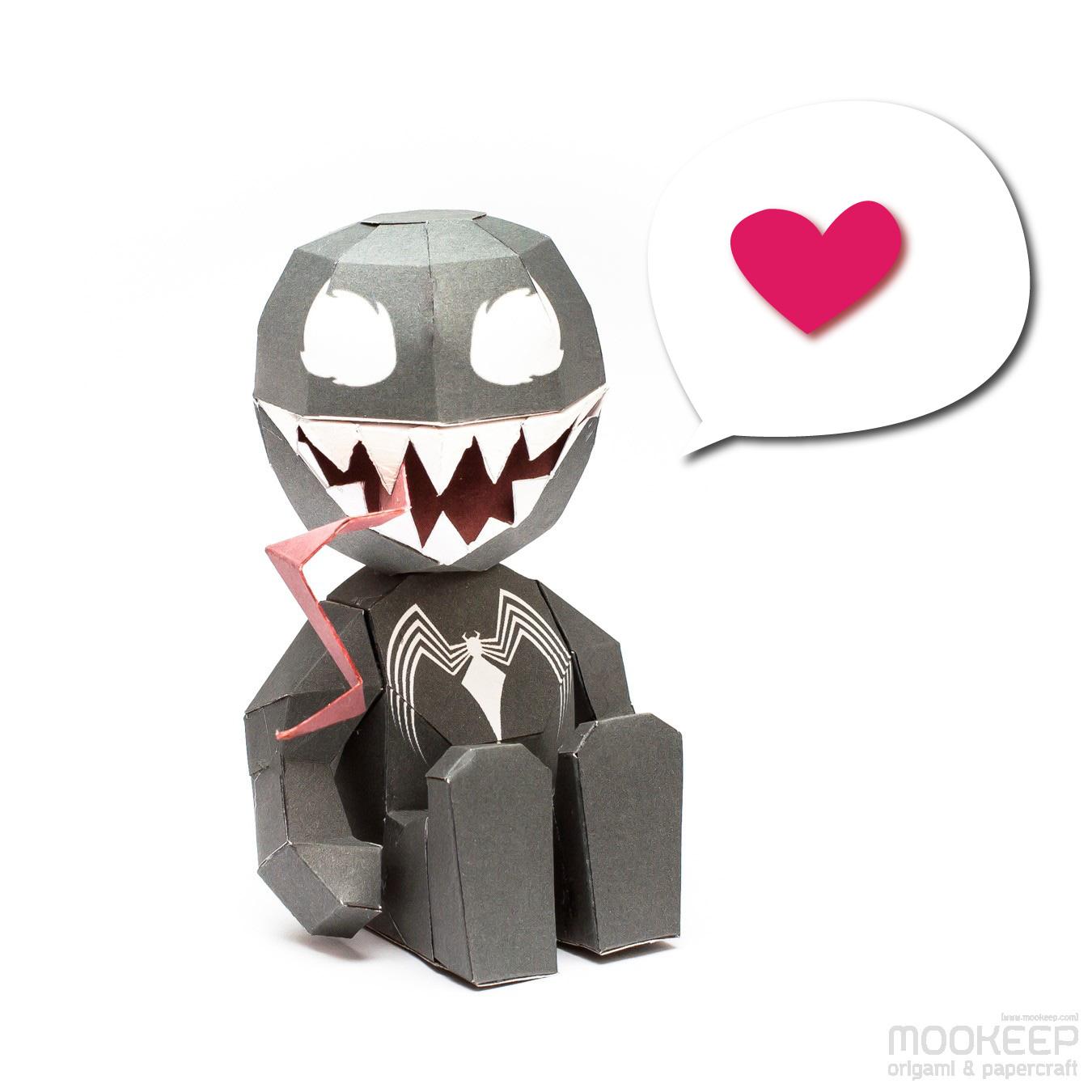 วิธีทำของเล่นโมเดลกระดาษสไปเดอร์แมน (Spiderman Papercraft Model) 009