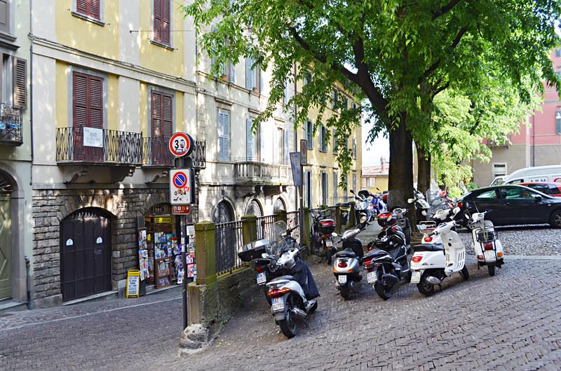 Scooters, Bergamo, Italy