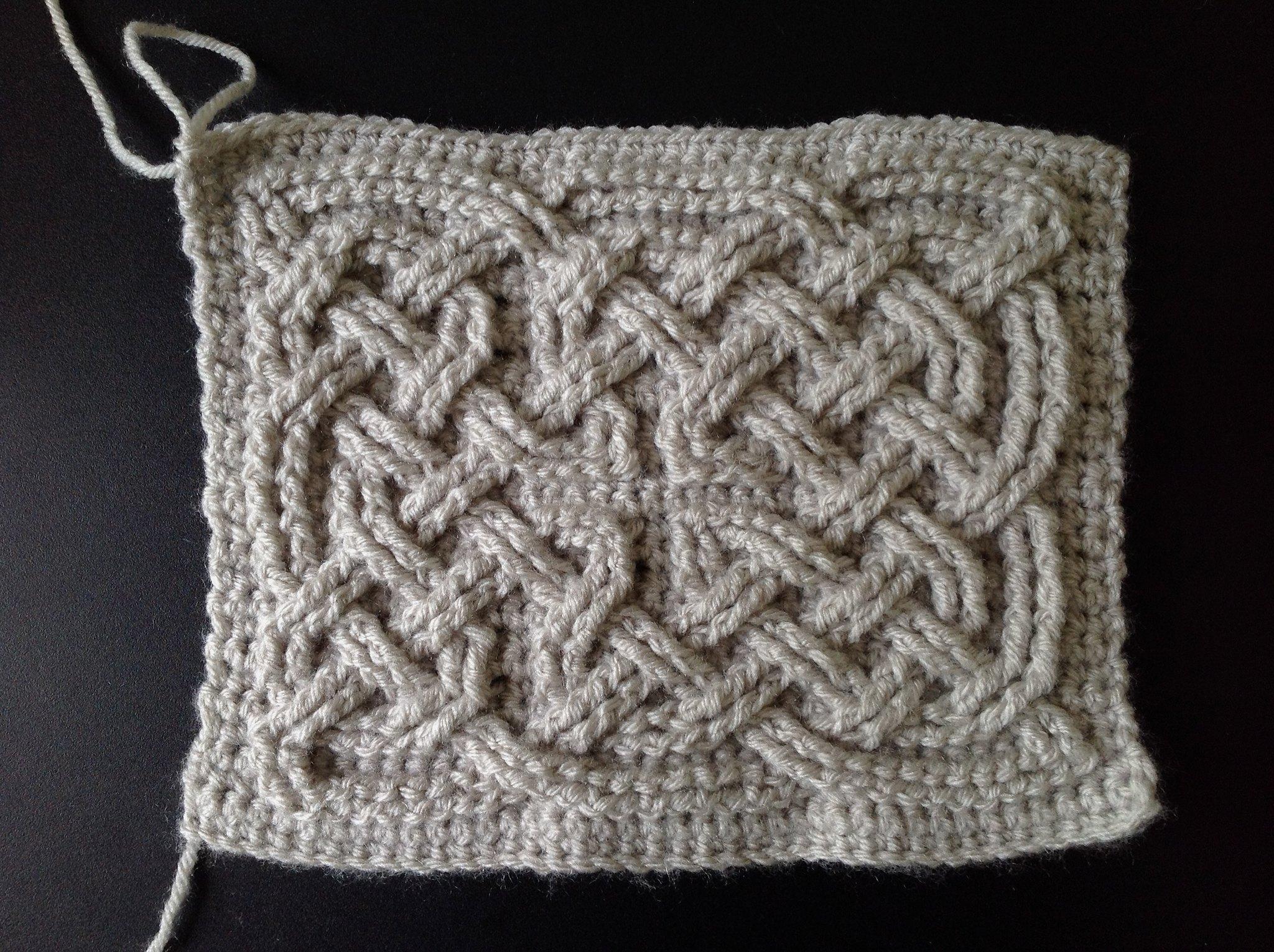 Suvi\'s Crochet: Book of Kells - Celtic Square Knot