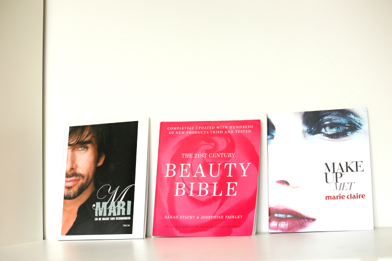 Mari boek Beauty Bible Make Up met Marie Claire