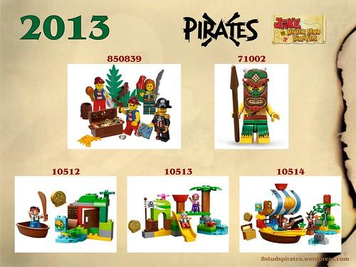 LEGO Pirates Timeline 2013