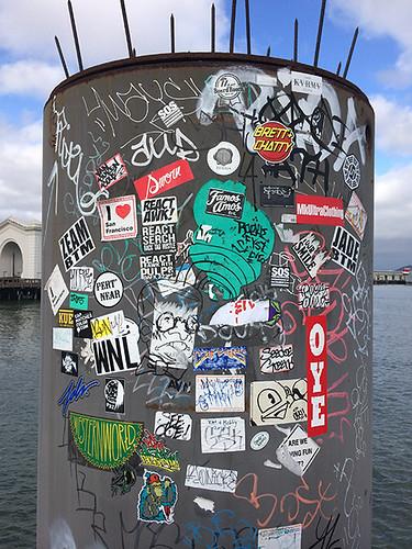 stickers pier 41
