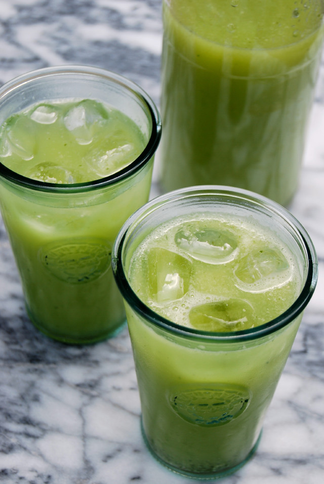 Cucumber & Mint Lemonade