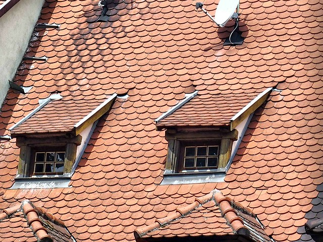 Colmar roofs and windows