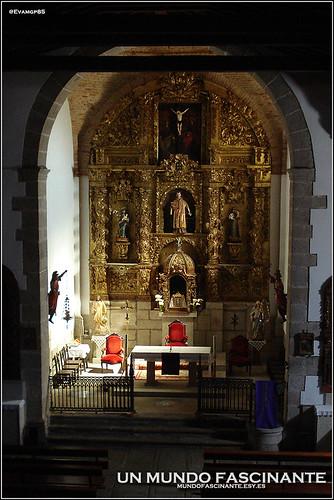 Retablo Mayor de la Iglesia de San Lorenzo. Garganta la Olla.