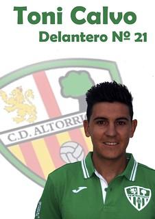 Toni Calvo Marqués (Temporada 2014/2015)