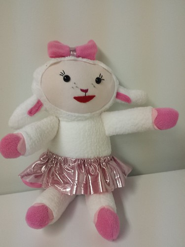 Homemade Lambie from Doc McStuffins
