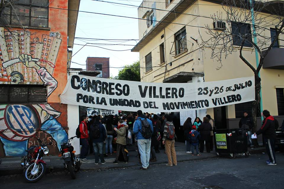 Congreso villero por la urbanización
