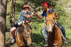 Kyrgyz horsemen