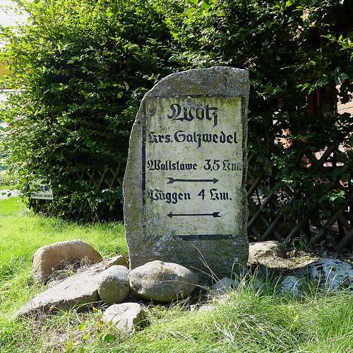 Historic signpost