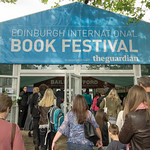 Busy entrance on the first day of the Book Festival |