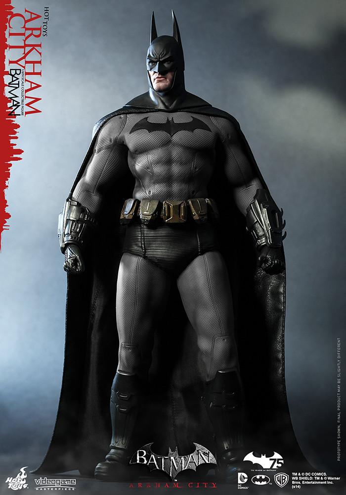 Hot Toys – VGM18 – 《蝙蝠俠:阿卡漢城市》1/6比例 蝙蝠俠