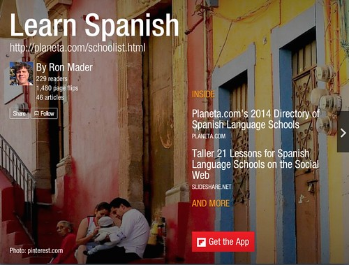 Learn Spanish #Flipboard 08.2014