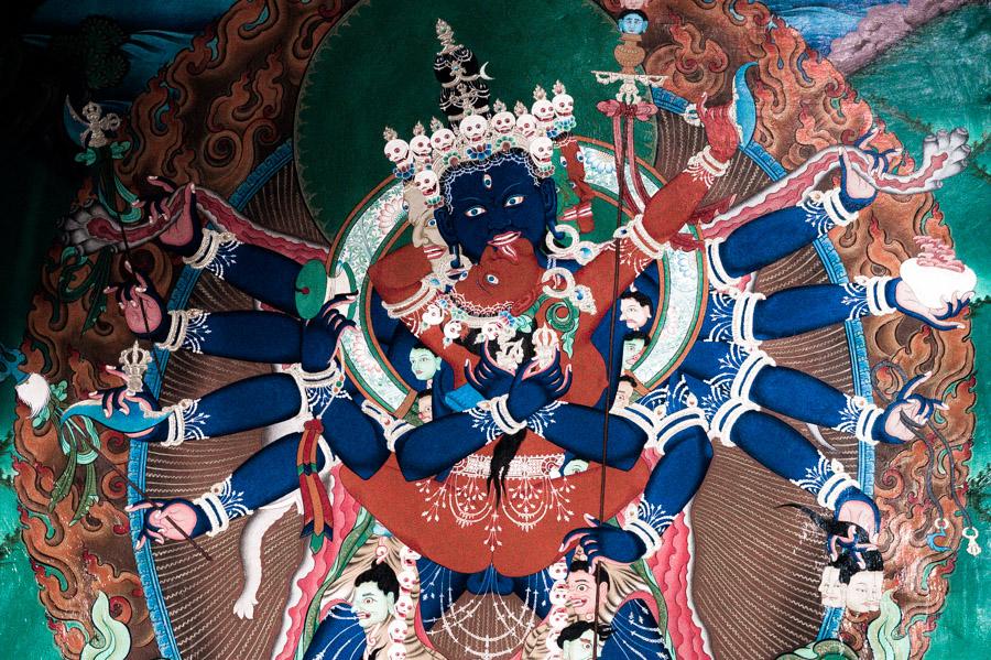 Калачакра. Стакна Гомпа (монастырь Стакна) © Kartzon Dream - авторские путешествия, авторские туры в Ладакх, тревел фото, тревел видео, фототуры