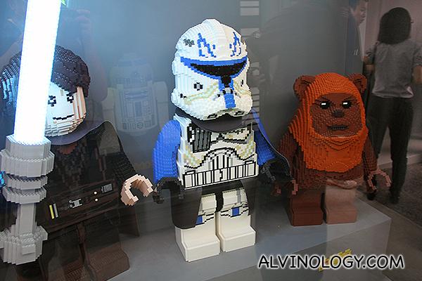 Sith, stormtrooper, ewok