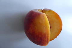 apricot, peach, fruit, food, nectarine,