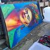 Work from @thieu_design awaiting to be picked up @sclaterstreetstalls #Streetart #streetartlondon
