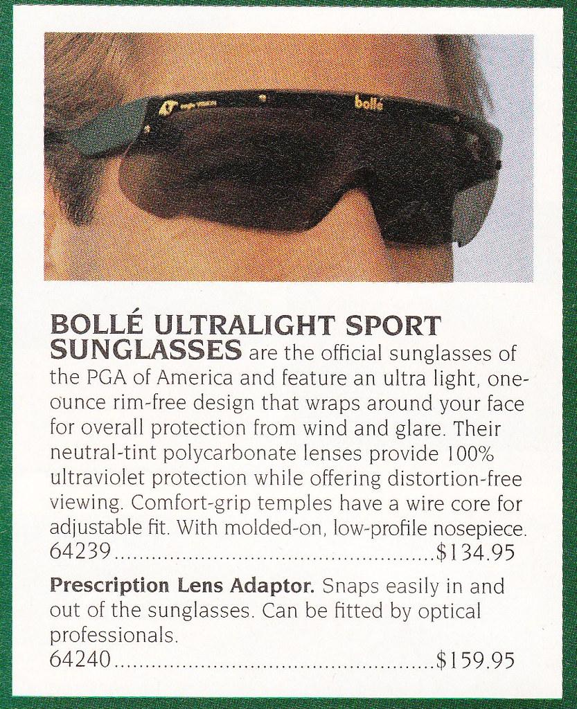 Bolle Sport glasses
