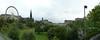 Panorama westwards from the Mound, Edinburgh