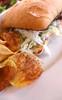 New York szendvics házilag füstölt mangalica tarjával