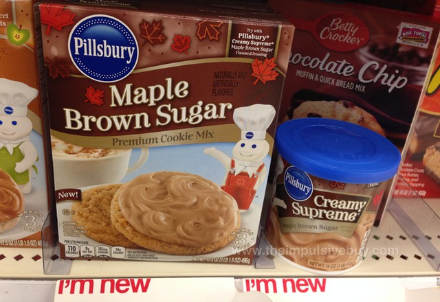 Pillsbury Maple Brown Sugar Cookie Mix