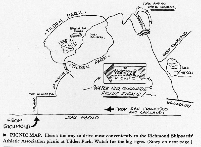 shipyard picnic map 1942