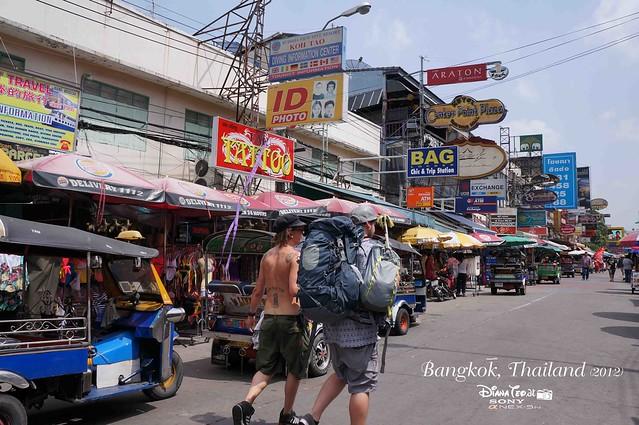 Khao San Road Bangkok Thailand 01