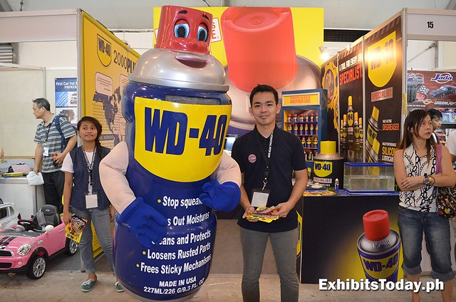WD-40 Mascot