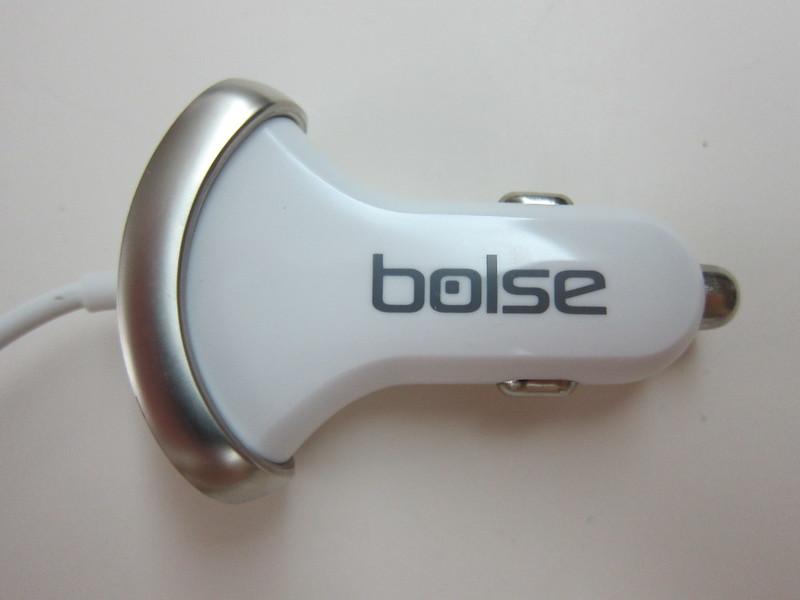 Bolse 25W (5A) 3-Port USB Car Charger - Top