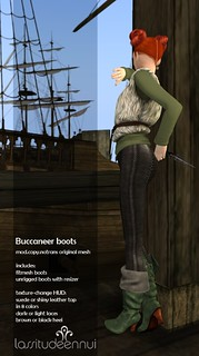 lassitude & ennui Buccaneer boots for We Love RP