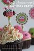 Look Whoo's One! Birthday Cupcakes