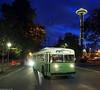 Seattle Transit 643 at Seattle Center