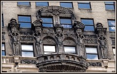 Book Tower: 1265 Washington Boulevard, Five Caryatids--Detroit MI