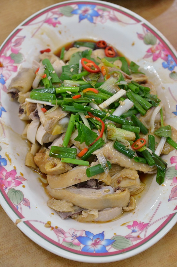 Poached Chicken with Soy Sauce